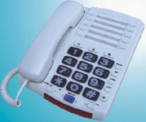 dailing telephone amplified