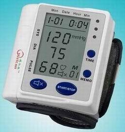 voice wrist blood pressure monitor