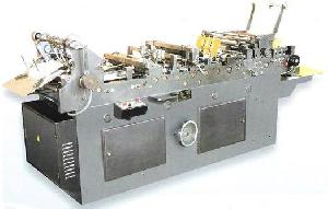 auto envelope box window sticking machine