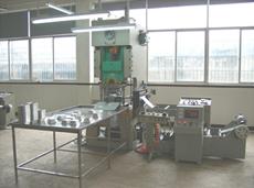 ppd 0430 auto aluminium foil food container machine