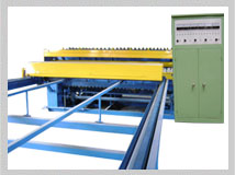 wire mesh fence machine