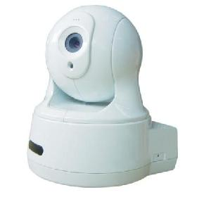 Pan / Tilt Network Camera Wireless And Sd Storage