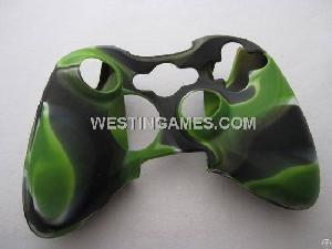 Silicone Protective Case For Xbox 360 Wire / Wireless Controller Camouflage Nude Packs