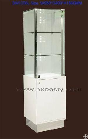 Glass Led Light Jewelry Display Wall Cabinet Showcase Or Jewelry Store Furniture Bestymerry ...