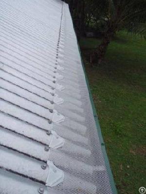aluminum leaf gutter mesh