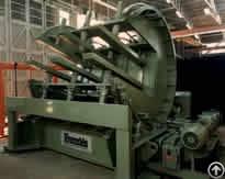 Six Worm Gear Screw Jack For Each Sheet Metal Bundle Turnover Machine