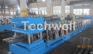 3 waves guardrail roll forming machine beam