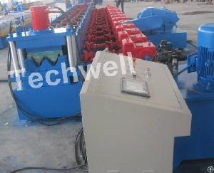 highway guardrail forming machine roll