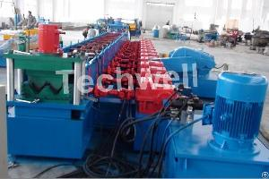 highway guardrail roll forming machine safety