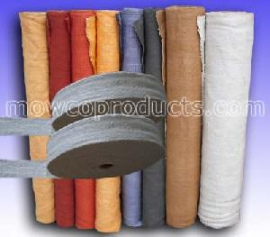 mowco heat treated ceramic fiber fabric tape