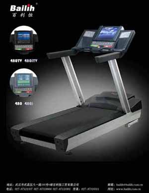 motorized treadmill 480itv