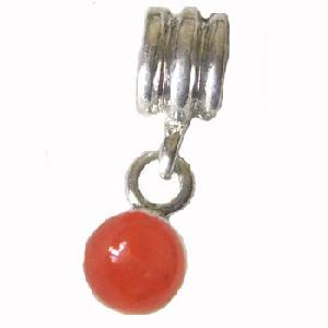 sterling silver dangle beads