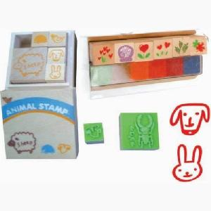 rubber stamp wooden wood toy eva inking date ink pad