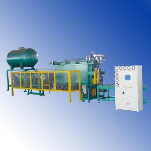 vacuum block moulding machine