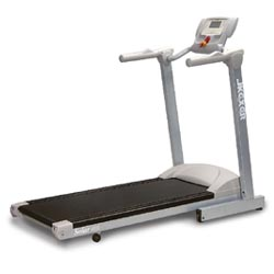 jkexer motorized treadmill equipped angle adjustable lcd computer