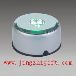 crystal rotary slide show platform