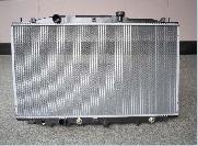 aluminium radiator condenser intercooler applied automobile construction machine farm machi