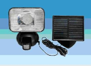 solar pir auto sensor security light sn sl pl s8103