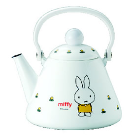 enamel tea kettle pot decal decortation