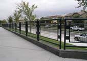 railing infill insert panels