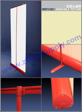 roll up banner stand bst1 20