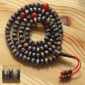 mala beads yak bone