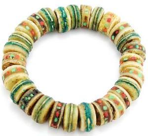 tibetan jewelry handmade yak bone mala bead bracelet