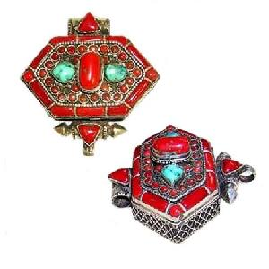 tibetan turquoise coral jewelry
