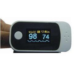 fingertip pulse oximeter rsd lf6000 waveform intensity display simultaneously