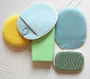 microfiber cleaning sponge