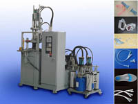 vertical pressure liquid silicone rubber lsr injection molding machine