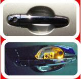 door handle cover w led toyota vigo fortuner 2 drs 4