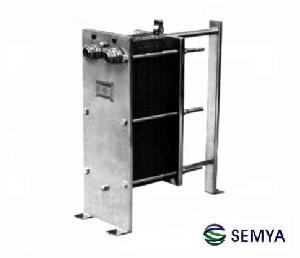 plate heat exchanger equipment exchange liquid steam