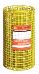 pvc coated plastic welded mesh