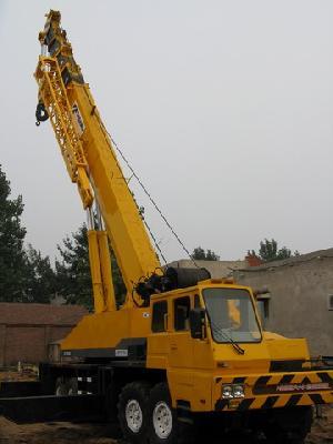 right hand drive truck crane 80t 1999