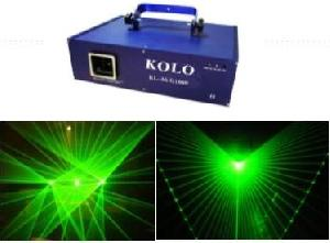 1w green animation laser light show stage dmx ilda dj
