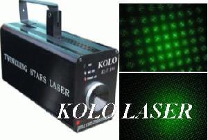 kl f50 green firefly twinkling laser light stage show disco dmx dj pro