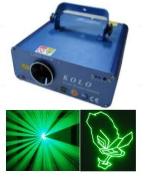 150mw green animation laser light stage disco