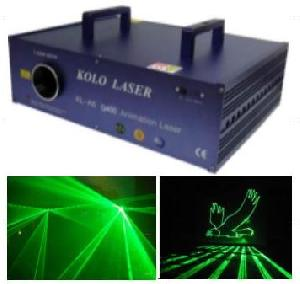 400mw green animation laser light stage disco ktv
