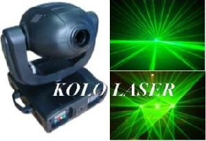 50mw 500mw green moving head animation laser light stage show dmx dj pro