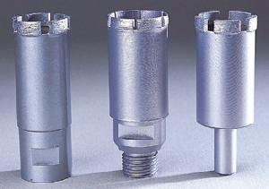 laser welded diamond core drill bits granite marble concrete
