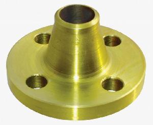 din 2633 weld neck flange golden painted st37 carbon steel