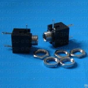 3 5mm earphone jack socket pcb vertical mount