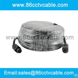 cctv camera extension wire 4 pin din female male video power cable