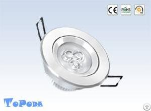 3w led ceiling light epistar 230 lumens ce rohs