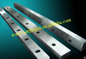 guillotine shearing blades hydraulic machines