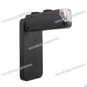 100 zoom mobile phone cellphone microscope micro lens iphone 4 4s 4gs