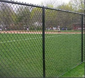 pvc coated chain link fencing commercial