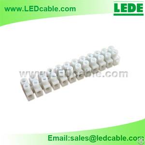 led lighting power connection terminal block