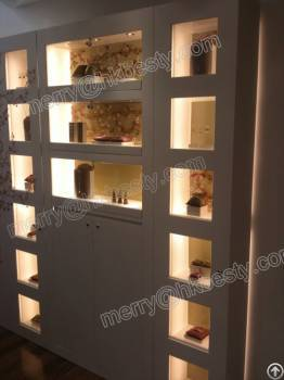 Famous Brand Perfume Or Jewelry Display Wall Cabinet For 2013